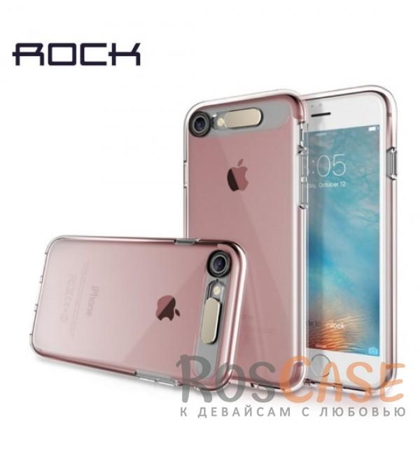 Светящийся глянцевый чехол с цветной подсветкой входящих вызовов для Apple iPhone 7 / 8 (4.7) (Розовый / Transparent pink)Описание:производитель  - &amp;nbsp;Rock;совместим с Apple iPhone 7 / 8 (4.7);материал  -  термополиуретан;тип  -  накладка.&amp;nbsp;Особенности:светится во время входящих звонков;прочный;легко чистится;не увеличивает габариты;защита экрана благодаря выступающим бортикам;имеет все функциональные вырезы;защищает от царапин и ударов.<br><br>Тип: Чехол<br>Бренд: ROCK<br>Материал: TPU