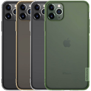 Nillkin Nature | Прозрачный силиконовый чехол  для iPhone 11 Pro Max