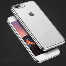 """Силиконовый чехол для Apple iPhone 7 plus / 8 plus (5.5"""") с глянцевой окантовкой"""