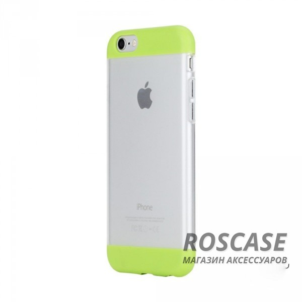 TPU+PC чехол Rock Aully Series для Apple iPhone 6/6s (4.7) (Зеленый / Green)Описание:бренд производителя: Rock;произведен для смартфона Apple iPhone 6/6s;изготовлен из поликарбоната и термополиуретана;форм-фактор: накладка.Особенности:имеет функцию антискольжения и антиотпечатков;оснащен надежной системой фиксации;обладает двойной защитой;износостойкий чехол.<br><br>Тип: Чехол<br>Бренд: ROCK<br>Материал: TPU