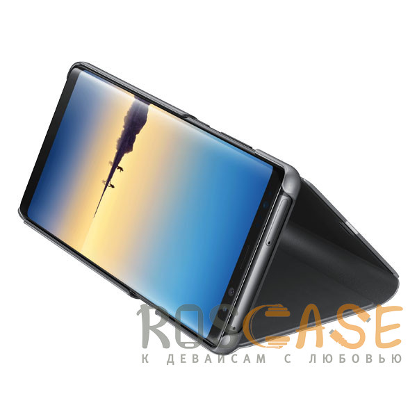 Изображение Черный Чехол-книжка Clear View Standing Cover для Huawei Honor 8A / Y6 (2019)