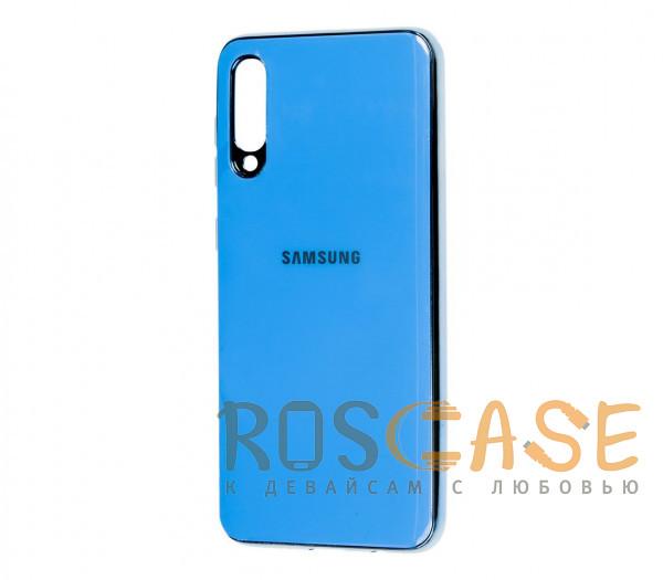 Фото Голубой TPU чехол GLOSSY LOGO для Samsung Galaxy A50 (A505F) / A50s / A30s