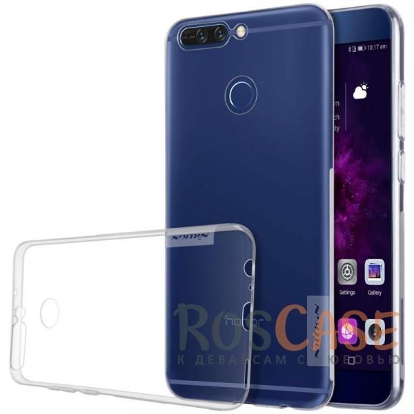 Мягкий прозрачный силиконовый чехол Nillkin Nature для Huawei Honor 8 Pro / Honor V9 (Бесцветный (прозрачный))Описание:бренд:&amp;nbsp;Nillkin;совместимость: Huawei Honor 8 Pro / Honor V9;материал: термополиуретан;тип: накладка;ультратонкий дизайн;прозрачный корпус;не скользит в руках;защищает от механических повреждений.<br><br>Тип: Чехол<br>Бренд: Nillkin<br>Материал: TPU