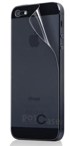 фото защитная пленка Auris для Apple iPhone 5/5S/5SE (на заднюю панель)