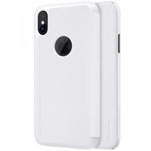"Nillkin Sparkle | Чехол-книжка с вырезом под логотип для Apple iPhoneX(5.8"")/XS(5.8"")"