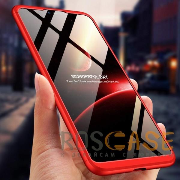 Изображение Красный GKK LikGus 360° | Двухсторонний чехол для Xiaomi Mi 8 Lite / Mi 8 Youth (Mi 8X) с защитными вставками