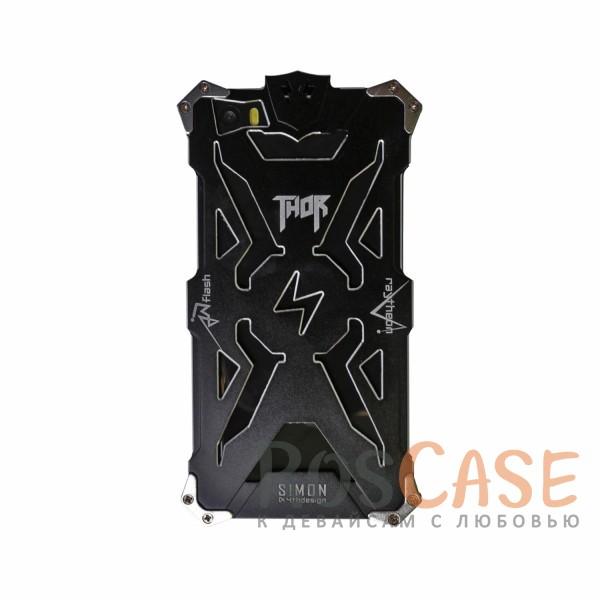 Противоударный чехол из авиационного алюминия на винтах Thor для Xiaomi MI5 / MI5 Pro (Черный)<br><br>Тип: Чехол<br>Бренд: Epik<br>Материал: Металл