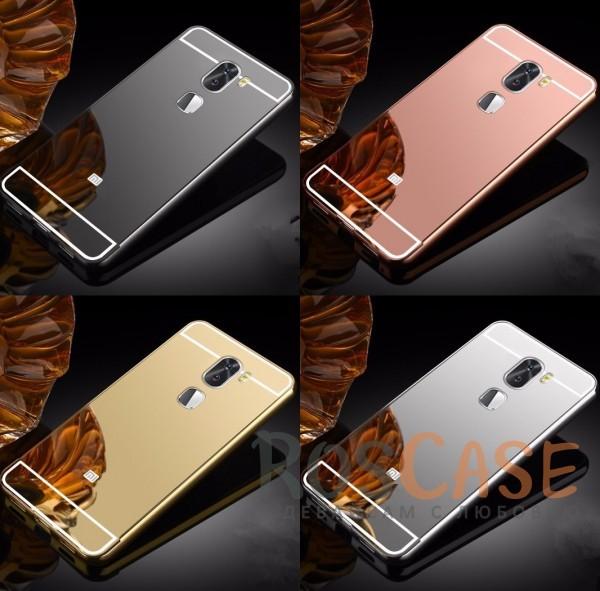 Металлический бампер с акриловой вставкой с зеркальным покрытием для Xiaomi Mi 5s PlusОписание:разработан для Xiaomi Mi 5s Plus;материалы - металл, акрил;тип - бампер с задней панелью.<br><br>Тип: Чехол<br>Бренд: Epik<br>Материал: Металл