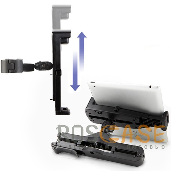 фото автодержатель для планшета 7 - 8 дюймов на подголовник Kropsson HR-H750FTP