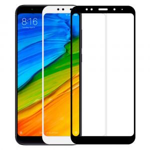 Защитное цветное стекло 5D для Xiaomi Redmi 5 Plus (SC)