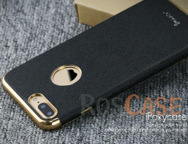 Кожаная накладка iPaky Chrome Series для Apple iPhone 7 plus (5.5) (Черный)Описание:производитель: iPaky;создана для&amp;nbsp;Apple iPhone 7 plus (5.5);материал изделия: искусственная кожа, хромированный пластик;конфигурация: накладка.Особенности:двухцветный дизайн;рельефная фактура;встроенная металлическая пластина;наличие всех функциональных вырезов;защита от царапин и ударов.<br><br>Тип: Чехол<br>Бренд: Epik<br>Материал: Искусственная кожа