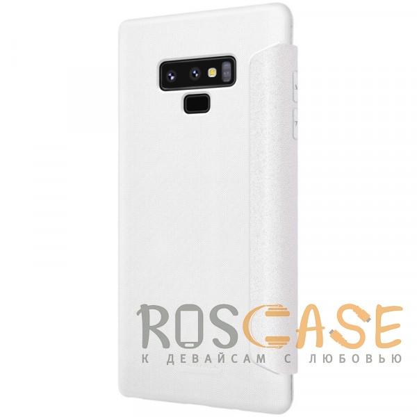 Фото Белый Nillkin Sparkle | Чехол-книжка для Samsung Galaxy Note 9