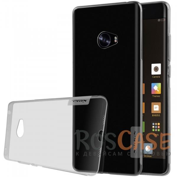 TPU чехол Nillkin Nature Series для Xiaomi Mi Note 2 (Серый (прозрачный))<br><br>Тип: Чехол<br>Бренд: Nillkin<br>Материал: TPU