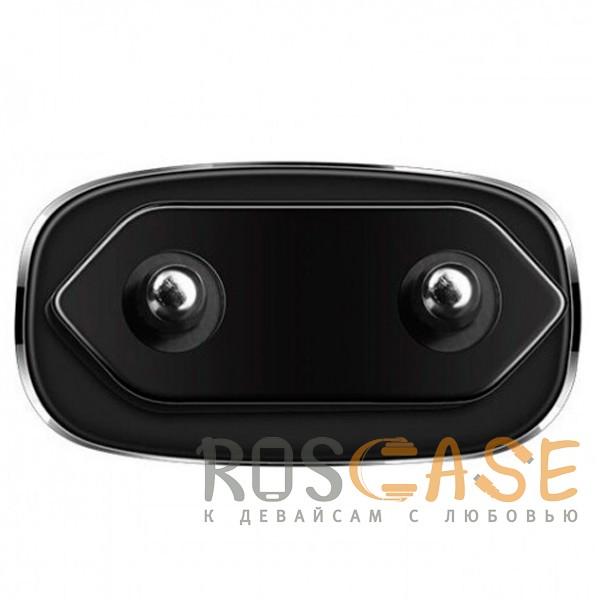 Фотография Черный HOCO C12 | Сетевое зарядное устройство 2USB (2,4А)