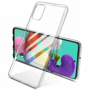 Clear Original | Прозрачный TPU чехол 2мм  для Samsung Galaxy A51