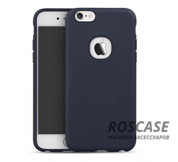 Силиконовая накладка iPaky с имитацией кожи для Apple iPhone 6/6s (4.7) (Синий)Описание:компания-разработчик: iPaky;совместимость с устройством модели: Apple iPhone 6/6s (4.7);материал изделия: силикон;конфигурация: накладка.Особенности:элегантный дизайн;высокий класс прочности и износоустойчивости;легко и надежно фиксируется на смартфоне;имеет все необходимые функциональные вырезы.<br><br>Тип: Чехол<br>Бренд: Epik<br>Материал: TPU
