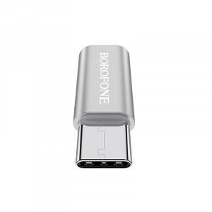Borofone BV4 | Переходник адаптер Micro USB на Type-C