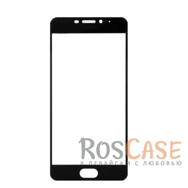 Фото Черный Artis 2.5D | Цветное защитное стекло на весь экран для Meizu M5 Note