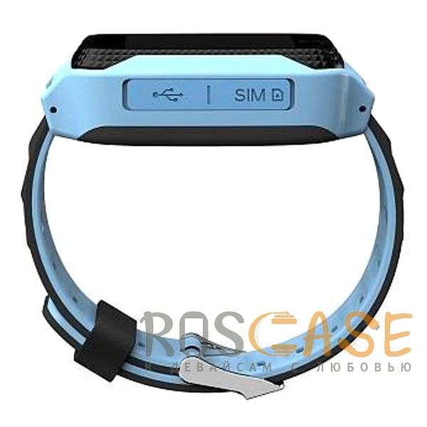 Изображение Синий Умные детские часы Smart Baby Watch T7
