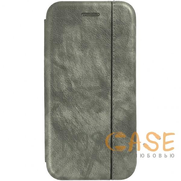 Фото Серый Open Color 2 | Чехол-книжка на магните для Samsung Galaxy S10+ с подставкой и внутренним карманом