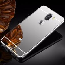 Металлический бампер для Xiaomi Mi 5s Plus с зеркальной вставкой