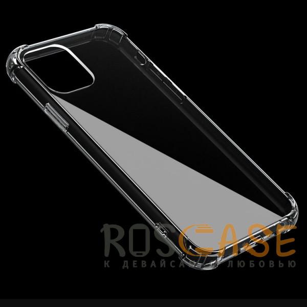 Фотография Прозрачный Противоударный силиконовый чехол для iPhone 12 Pro Max с усиленными углами