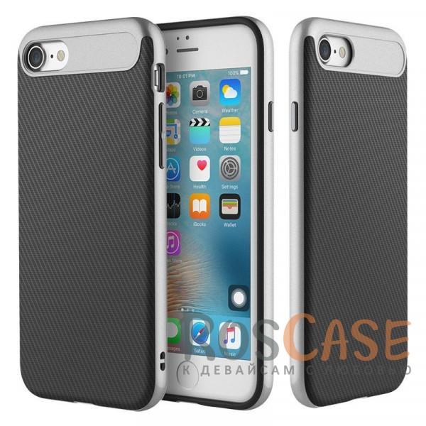 TPU+PC чехол Rock Vision Series для Apple iPhone 7 (4.7) (Серый / Grey)Описание:фирма:&amp;nbsp;Rock;совместимость: Apple iPhone 7 (4.7);материал: термопластичный полиуретан и поликарбонат;вид: накладка.&amp;nbsp;<br><br>Тип: Чехол<br>Бренд: ROCK<br>Материал: TPU