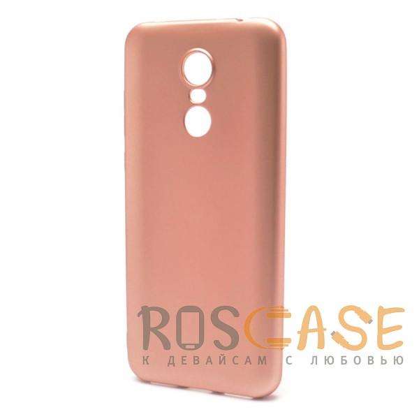 Фото Rose Gold J-Case THIN | Гибкий силиконовый чехол для Xiaomi Redmi 5