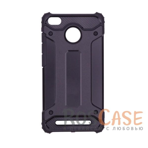 Противоударный двухкомпонентный чехол с дополнительной защитой углов для Xiaomi Redmi 3 Pro / Redmi 3s (Черный)Описание:ударопрочный чехол;спроектирован специально для Xiaomi Redmi 3 Pro / Redmi 3s&amp;nbsp;/ Redmi 3x;защищает заднюю панель гаджета и боковые грани;приподнятые бортики защищают экран от царапин;конструкция из двух материалов - термополиуретана и поликарбоната;предусмотрены все необходимые вырезы;не скользит в руках;формат - накладка.<br><br>Тип: Чехол<br>Бренд: Epik<br>Материал: TPU