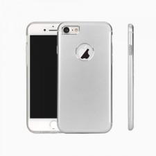"""Гибридный защитный чехол из алюминия аналогичного материалу корпуса c силиконовым внутренним слоем для Apple iPhone 7 (4.7"""")"""