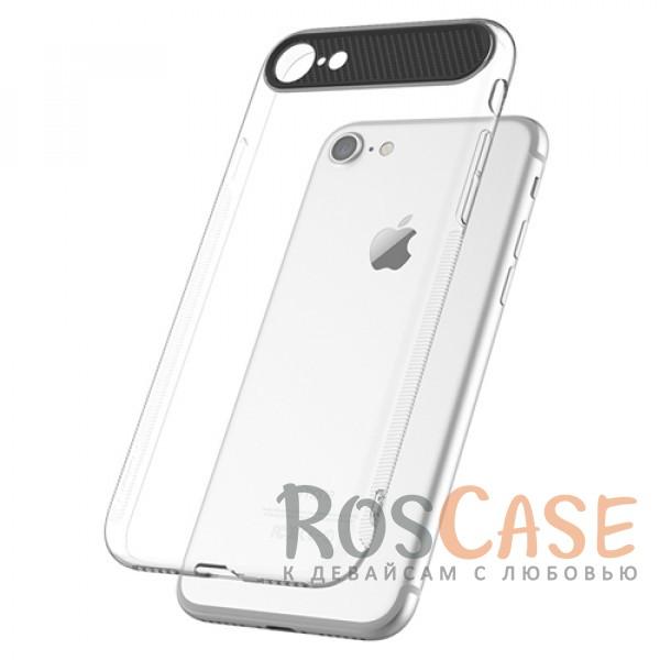 TPU+PC чехол Rock Ace Series для Apple iPhone 7 (4.7) (Бесцветный / Transparent)Описание:произведен фирмой&amp;nbsp;Rock;материал: термополиуретан, поликарбонат;совместимость: Apple iPhone 7 (4.7);тип: накладка.<br><br>Тип: Чехол<br>Бренд: ROCK<br>Материал: TPU