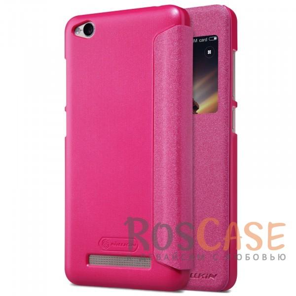 Кожаный чехол (книжка) Nillkin Sparkle Series для Xiaomi Redmi 4a (Розовый)Описание:от компании&amp;nbsp;Nillkin;совместим с Xiaomi Redmi 4a;материалы: поликарбонат, искусственная кожа;тип: чехол-книжка.<br><br>Тип: Чехол<br>Бренд: Nillkin<br>Материал: Искусственная кожа