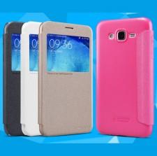 Nillkin Sparkle   Чехол-книжка с окошком для Samsung J500H Galaxy J5