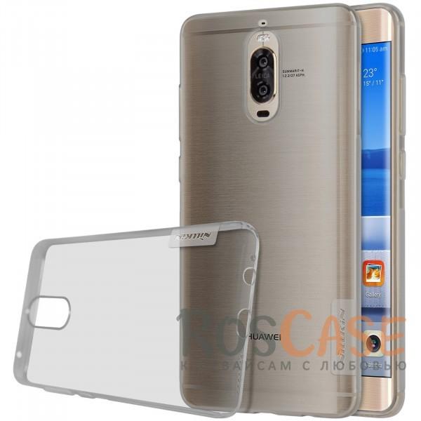 Мягкий прозрачный силиконовый чехол Nillkin Nature для Huawei Mate 9 Pro (Серый (прозрачный))Описание:бренд:&amp;nbsp;Nillkin;совместимость: Huawei Mate 9 Pro;материал: термополиуретан;тип: накладка;ультратонкий дизайн;прозрачный корпус;не скользит в руках;защищает от механических повреждений.<br><br>Тип: Чехол<br>Бренд: Nillkin<br>Материал: TPU