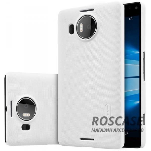 Чехол Nillkin Matte для Microsoft lumia 950 XL (+ пленка) (Белый)Описание:производитель - компания&amp;nbsp;Nillkin;материал - поликарбонат;совместим с Microsoft lumia 950 XL;тип - накладка.&amp;nbsp;Особенности:матовый;прочный;тонкий дизайн;не скользит в руках;не выцветает;пленка в комплекте.<br><br>Тип: Чехол<br>Бренд: Nillkin<br>Материал: Поликарбонат
