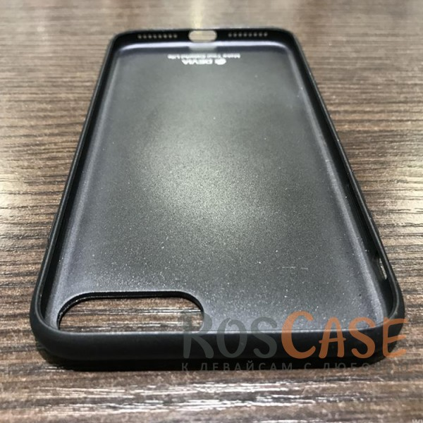 фото Черный Накладка Devia Commander Case с металлической вставкой для Apple iPhone 7 plus (5.5