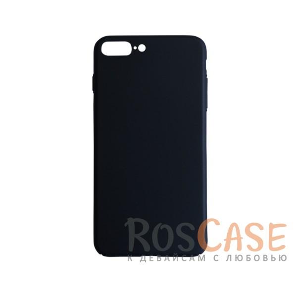 Пластиковая накладка soft-touch с защитой торцов Joyroom для Apple iPhone 7 plus (5.5) (Черный)<br><br>Тип: Чехол<br>Бренд: Epik<br>Материал: Пластик