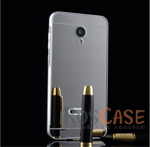 Металлический бампер с акриловой вставкой с зеркальным покрытием для Meizu M2 / M2 mini (Серебряный)Описание:разработан для Meizu M2 / M2 mini;материалы - металл, акрил;тип - бампер с задней панелью.<br><br>Тип: Чехол<br>Бренд: Epik<br>Материал: Металл