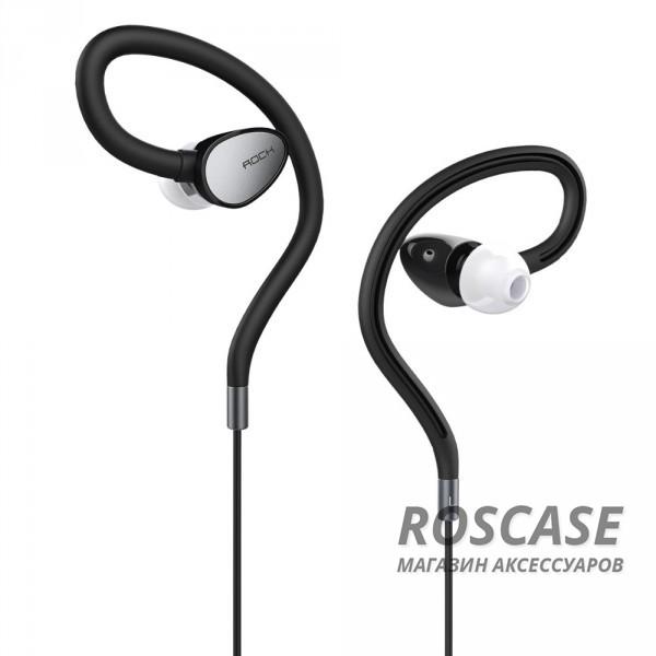 Наушники ROCK Zircon Sport stereo (Черный / Black)Описание:производитель  - &amp;nbsp;Rock;разъем  -  3,5 mini jack;тип  -  наушники.&amp;nbsp;Особенности:микрофон;неодимовый динамик&amp;nbsp;8 мм;сопротивление: 16&amp;plusmn;15%&amp;Omega;;чувствительность  - &amp;nbsp;93&amp;plusmn;3&amp;nbsp;Дб;частотный диапазон:&amp;nbsp;20-20&amp;nbsp;кГц;прочная оплетка.<br><br>Тип: Наушники/Гарнитуры<br>Бренд: ROCK