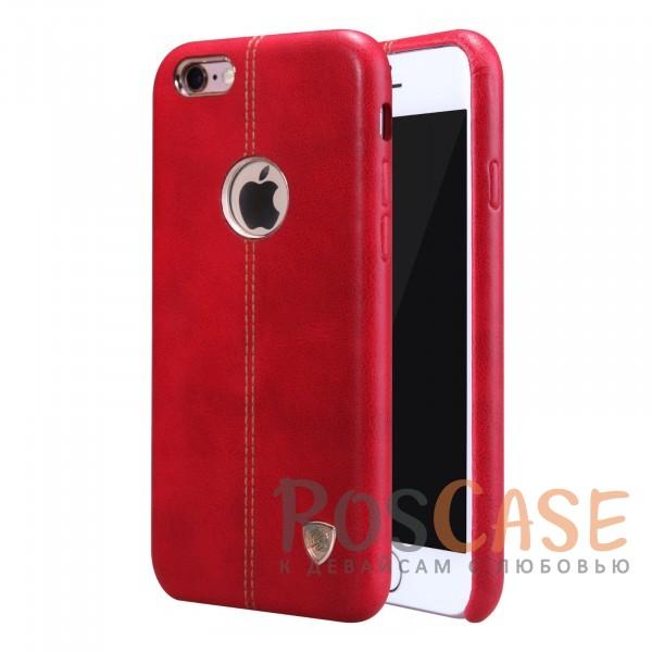 Кожаная накладка Nillkin Englon Series для Apple iPhone 6/6s (4.7) (Красный)Описание:произведено брендом&amp;nbsp;Nillkin;совместимость - Apple iPhone 6/6s (4.7);материал: натуральная кожа, микрофибра;тип: накладка.&amp;nbsp;Особенности:ультратонкий дизайн;фактурная поверхность;декоративная строчка;не скользит в руках;защищает заднюю панель и боковые грани.<br><br>Тип: Чехол<br>Бренд: Nillkin<br>Материал: Натуральная кожа