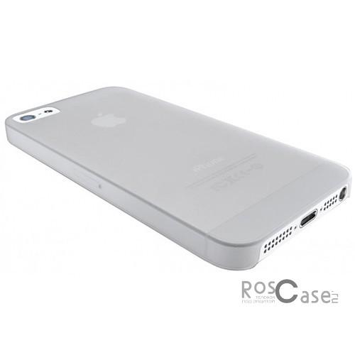 Фотография #Пластиковая накладка Cellular Line 0,35 mm для Apple iPhone 5/5S (+ пленка)
