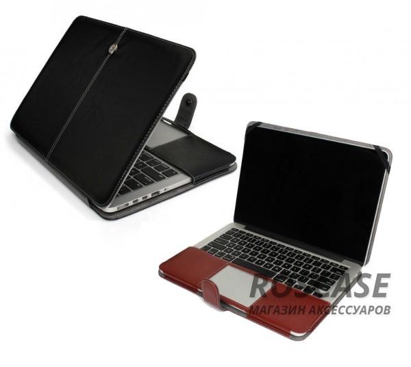 фото кожаный чехол-книжка TTX для Apple MacBook Pro 13