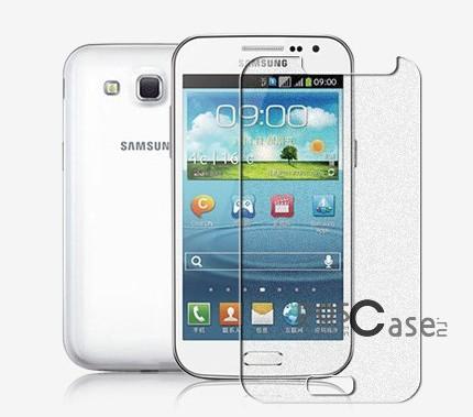 Защитная пленка Nillkin Crystal для Samsung i8552 Galaxy Win (Анти-отпечатки)Описание:компания-производитель  -  Nillkin;создана для смартфона Samsung i8552 Galaxy Win;изготовлена из полимера высокого качества на силиконовой основе;легко фиксируется на экран.Особенности:оберегает от загрязнений, царапин и сколов;не оставляет пузырей на экране, хорошо разглаживается;не замедляет работу сенсорного экрана.&amp;nbsp;<br><br>Тип: Защитная пленка<br>Бренд: Nillkin