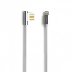 Remax Emperor | Дата кабель USB to Lightning с угловым штекером USB (100 см) для Meizu Pro 6