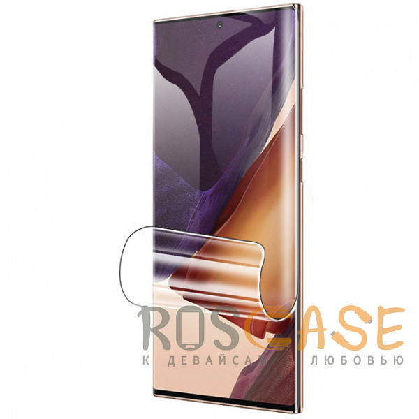 Фото Прозрачная Гидрогелевая защитная плёнка Rock для Samsung Galaxy Note 20 Ultra