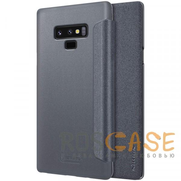 Фото Черный Nillkin Sparkle | Чехол-книжка для Samsung Galaxy Note 9