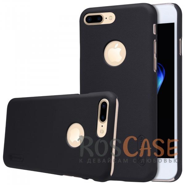 Чехол Nillkin Matte для Apple iPhone 7 plus (5.5) (+ пленка) (Черный)Описание:бренд&amp;nbsp;Nillkin;спроектирована для&amp;nbsp;Apple iPhone 7 plus (5.5);материал - поликарбонат;тип - накладка.Особенности:фактурная поверхность;защита от ударов и царапин;тонкий дизайн;наличие функциональных вырезов;пленка на экран в комплекте.<br><br>Тип: Чехол<br>Бренд: Nillkin<br>Материал: Поликарбонат