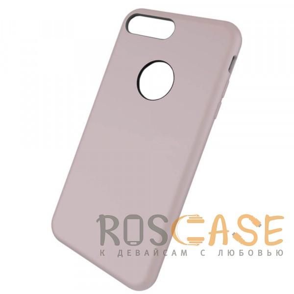 """Фотография Сиреневый / Light purple Rock Silicon   Ультратонкий чехол для Apple iPhone 7 plus / 8 plus (5.5"""") из силикона"""
