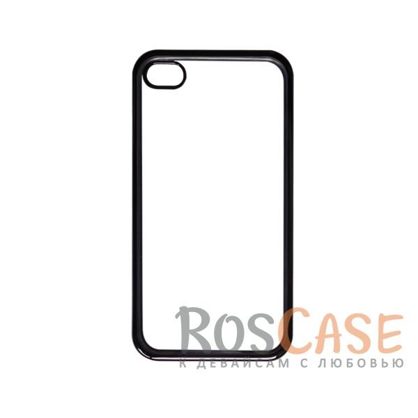 Прозрачный силиконовый чехол для Apple iPhone 4/4S с глянцевой окантовкой (Серый)Описание:совместим с Apple iPhone 4/4S;материал - термополиуретан;тип - накладка.<br><br>Тип: Чехол<br>Бренд: Epik<br>Материал: TPU