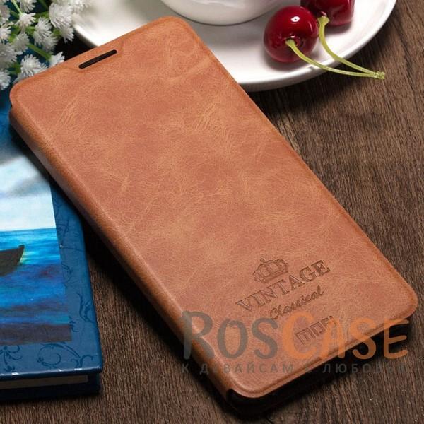 Винтажный кожаный чехол-книжка MOFI Vintage с отделением для карт и функцией подставки для OnePlus 3 / OnePlus 3T (Коричневый)Описание:компания-производитель: Mofi;совместимость: OnePlus 3 / OnePlus 3T;материалы: искусственная кожа, термополиуретан;функция подставки;отделение для карточек или купюр;формат: чехол-книжка;винтажный стиль.<br><br>Тип: Чехол<br>Бренд: Mofi<br>Материал: Искусственная кожа
